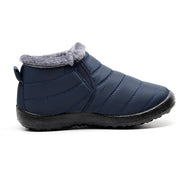 Men's Winter Warm Cotton Soft Bottom Warm Waterproof  Snow Boots