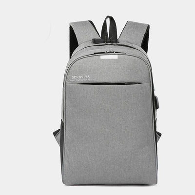 Men and Women Computer Bag Multi-function  USB Charging Anti-theft Backpack