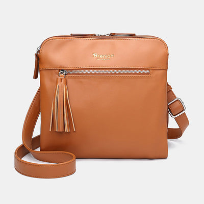 138135 Women Casual Solid Multifunction Crossbody Bag