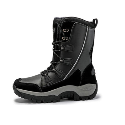 138222  Women's winter new plus velvet warm outdoor waterproof anti-skid boots cold shoes