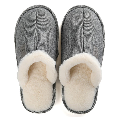 Men's warm cotton shoes and cotton slippers