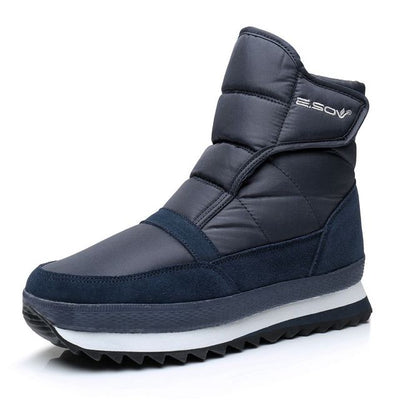 Men's Winter Cotton Waterproof Non-slip Outdoor Boots