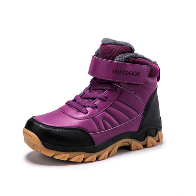 139198 Large Size Cotton Shoes Hiking Shoes Thick Plush Women's Shoes