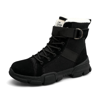 139346 Winter High-top Women's Shoes Plus Velvet Comfortable Cotton Shoes Casual Sports Snow Boots