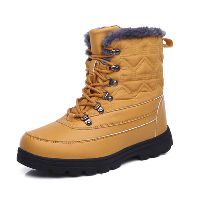 Women's cold and anti-freezing snow boots large size cotton boots old Beijing shoes