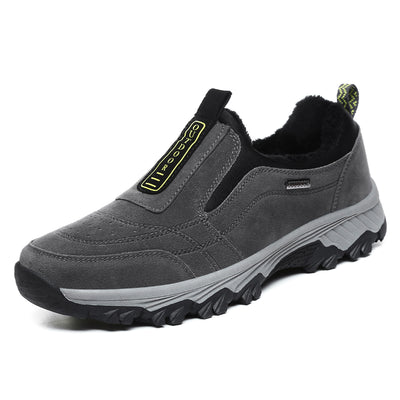 Men's casual shoes to keep warm cotton mountaineering shoes lazy people