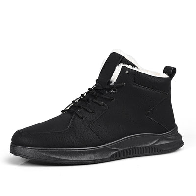 Leisure sports shoes to keep warm in winter and cotton boots for men
