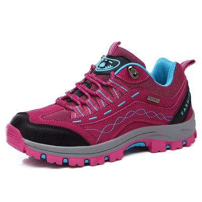 Women's hiking shoes lace leisure sports shoes