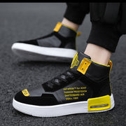 Men's high-top men's shoes autumn and winter outdoor casual shoes