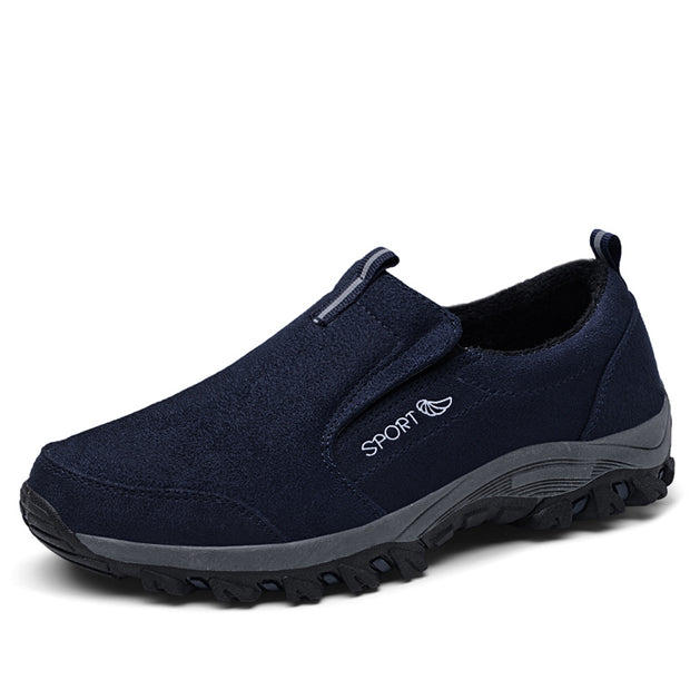 Men's winter plus velvet cotton shoes for the elderly