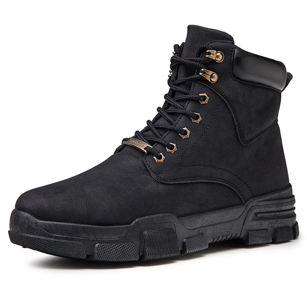 Men's winter high-explosive models Martin boots men's fashion casual warm boots