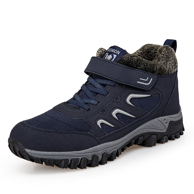 Men's outdoor hiking shoes and cotton warm shoes casual shoes