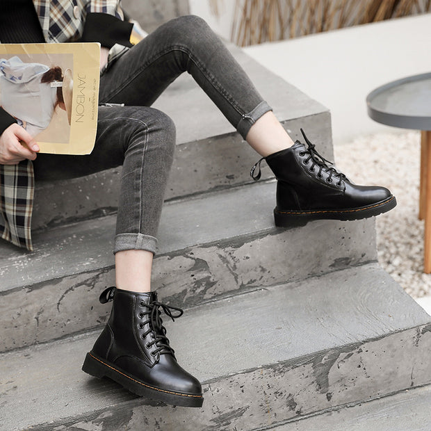Women in winter to keep warm Martin boots, leisure and convenient work boots