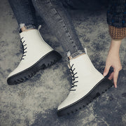 Women winter cotton socks Martin boots to keep warm and leisure work boots