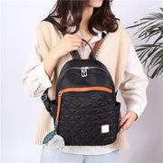 Women's Backpack Fur Ball Bags