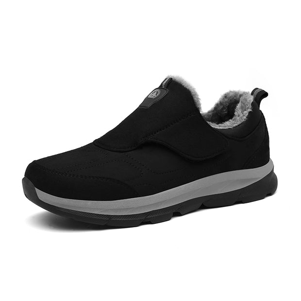 Men's winter cotton shoes to keep warm and comfortable recreational hiking shoes