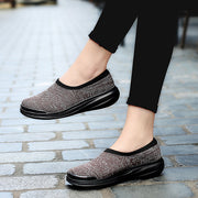 Women comfortable breathable mesh cloth shoes casual shoes