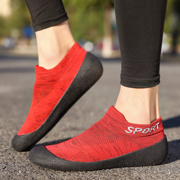 Men And Women Fashion Couple Casual Socks Shoes Outdoor Sports Shoes Non-slip Wear-resistant Hiking Shoes