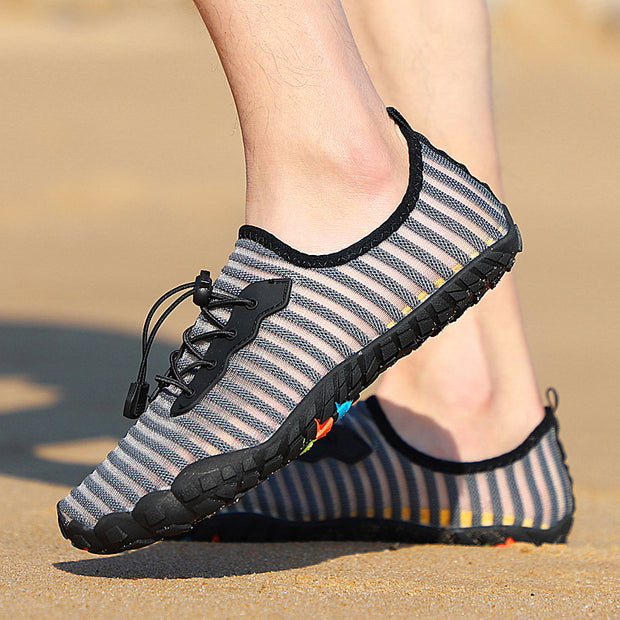 Outdoor Refreshing Casual Shoes Fish Silk Five-finger Swimming Shoes Wading Shoes