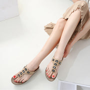 Women Summer Sandals T-strap Flip Flops Thong Sandals Designer Band Ladies Gladiator Sandal Shoes pantoufle femme Zapatos Mujer