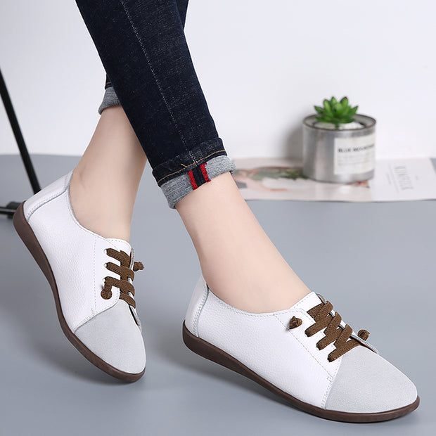Women light white shoe comfortable walking shoes