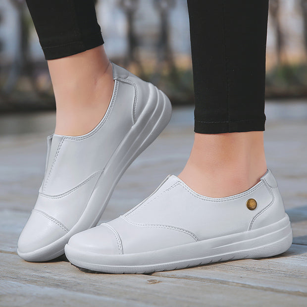 Women breathable comfortable flat casual shoes
