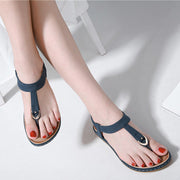Women Summer Shoes Woman Sandals Sandalias Mujer 2019 Soft Slides Flip Flops Wedges Flat Ladies Beach Sandals Plus Size