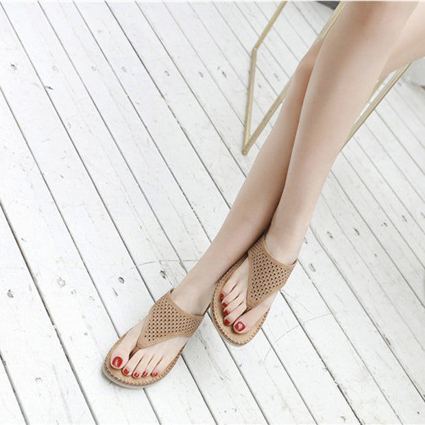 Women Thong Sandals Cut Out Hollow Crystal Rhinestone Slippers Platform Wedge Heel Thick Sole Bottom Shoes Slides Mule