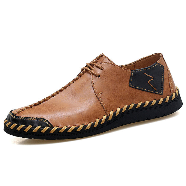 Male comfortable leisure shoes by hand big yards