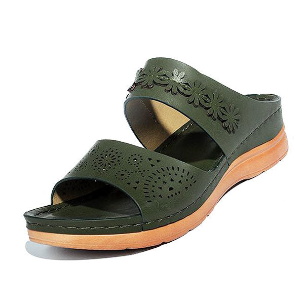 Women's Comfortable Open Toe Casual Wedges Sandals 133937
