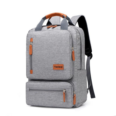 Men's Polyester Three-Dimensional Wear-Resistant Shockproof Backpack