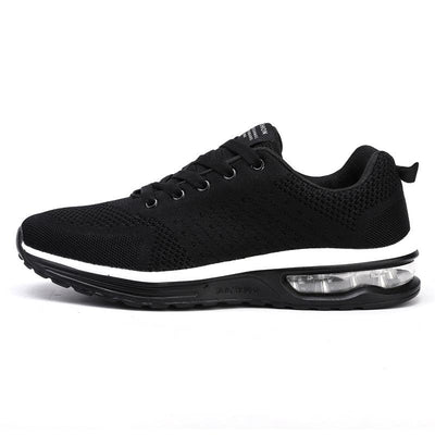 Men's Mesh Breathable Large-Size Solid Color Sneakers