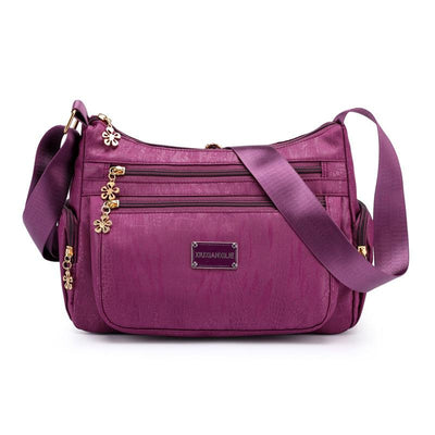 Women's Casual Waterproof Versatile Fabric Crossbody Bag