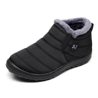 Men's Winter Warm Cotton Soft Bottom Waterproof Snow Boots