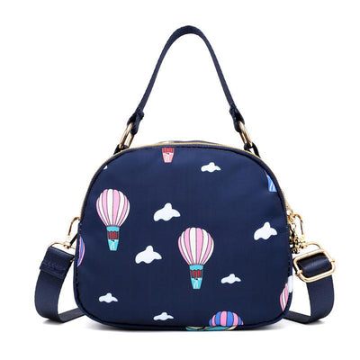 138089 Women's nylon crossbody bag Mini simple wild tide shoulder bag