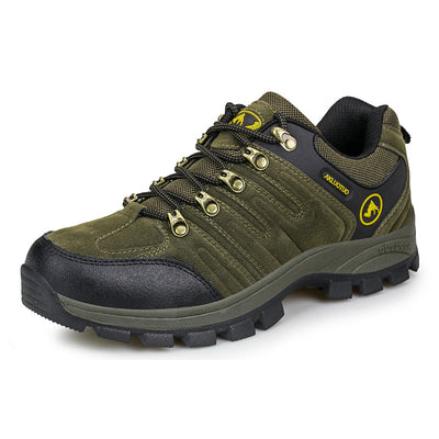 138213  Men's spring and autumn hiking new outdoor wear-resistant hiking shoes
