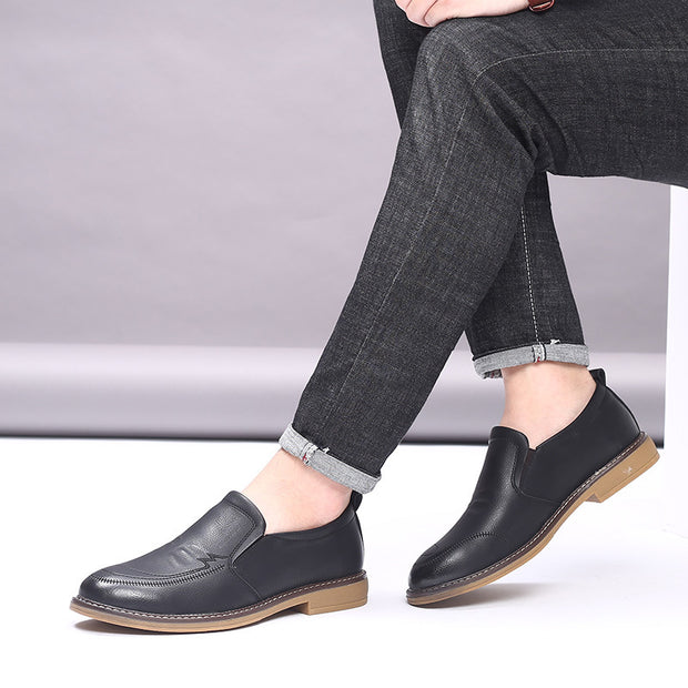 Men's autumn soft noodle bottom casual foot shoes