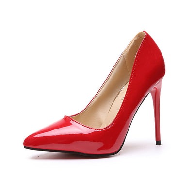 Women's Plus Size Pointed Shoes Women Party Pump High Heels