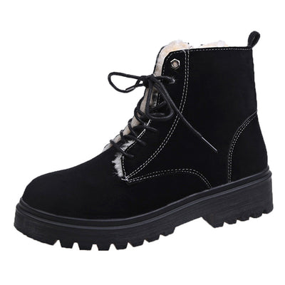 Women winter warm big size cotton boots snow boot shoe