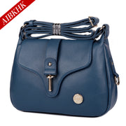 Women's bag leather bag leather cross-body bag