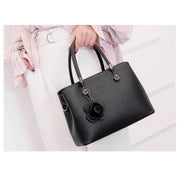Women's Leather Handbag Mother Bag  Fashion Wild Handbag Shoulder Messenger Bag