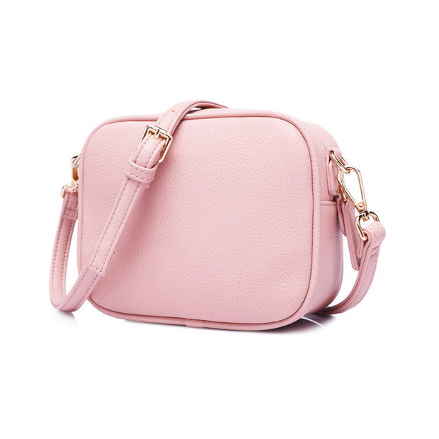 Women's Trendy bags models solid color PU messenger bags women's bags ladies shoulder bags small square bags