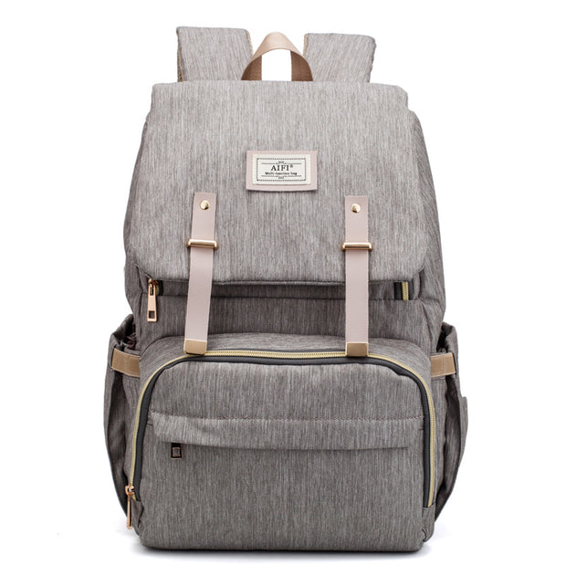 Women's Bag Upgrade New Fashion Korean Backpack Multifunctional Large Capacity Baby Bag Out Mom Bag