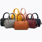 Women's ladies diagonal bag large capacity ladies pillow bags solid color ladies bags