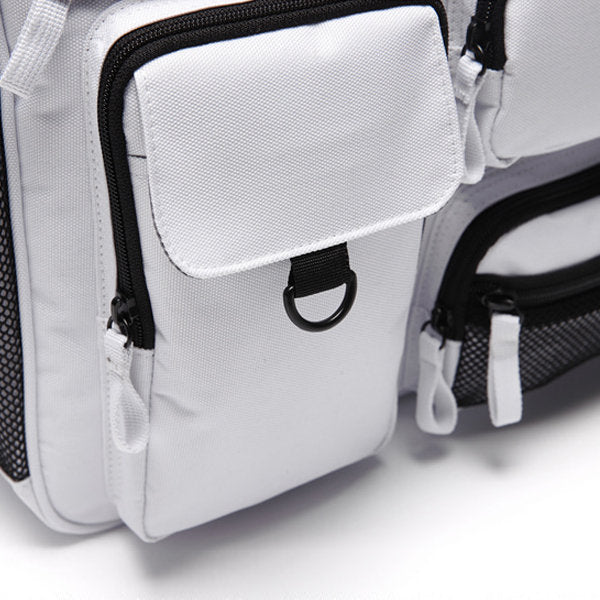 Women's Nylon Water Resistant Multi-slot Crossbody Shoulder Bags