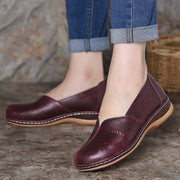 Women Daily Comfy Breathable Hollow Slip On Loafers