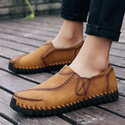 Men's Retro Hand Stitched Comfortable Slip Resistant Casual Loafers