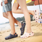 Men's Baotou slippers wear beach shoes couple classic casual large size sandals and slippers