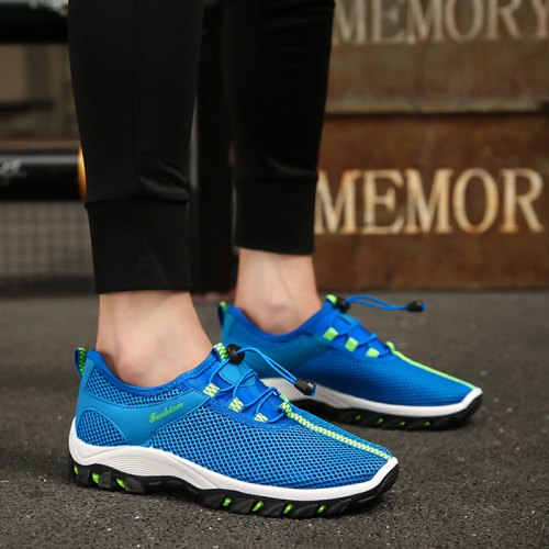 Men's breathable mesh outdoor climbing sports shoes mesh shoes