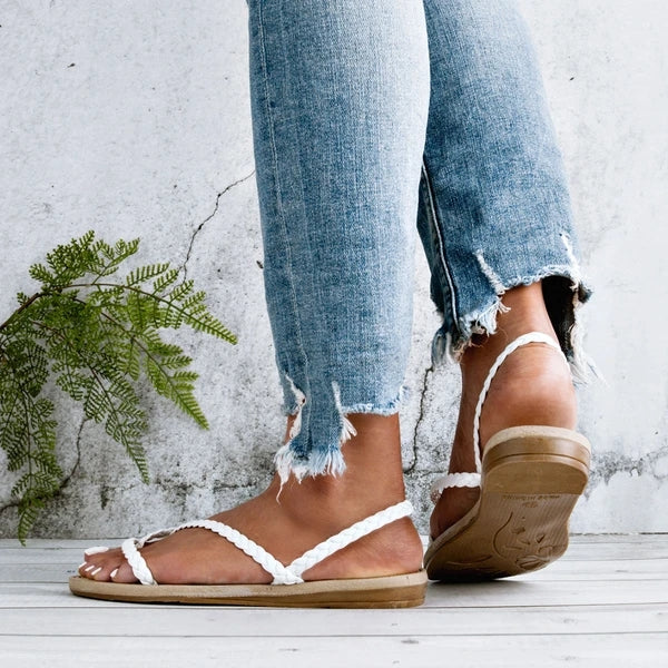 Women Summer Flat Heel Sandals